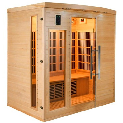 sauna infrarouge apollon 4 places. Black Bedroom Furniture Sets. Home Design Ideas