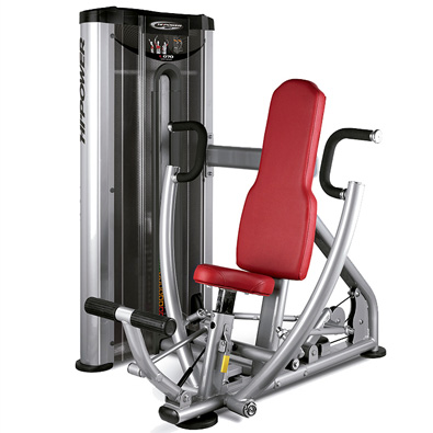 Poste pour pectoraux et abdominaux BH Hipower Seated Chest Press