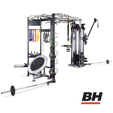 cage de crosstraining bh fitness l360. Black Bedroom Furniture Sets. Home Design Ideas