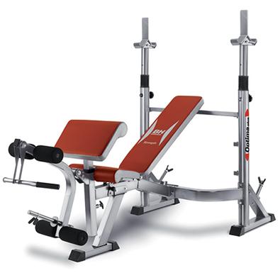 banc de musculation charges libres bh fitness optima press. Black Bedroom Furniture Sets. Home Design Ideas