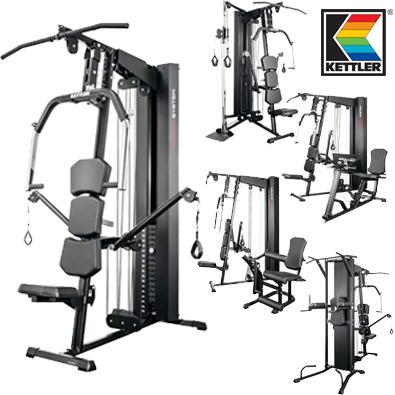 Station de musculation kettler kinetic system - Station de musculation pas cher ...