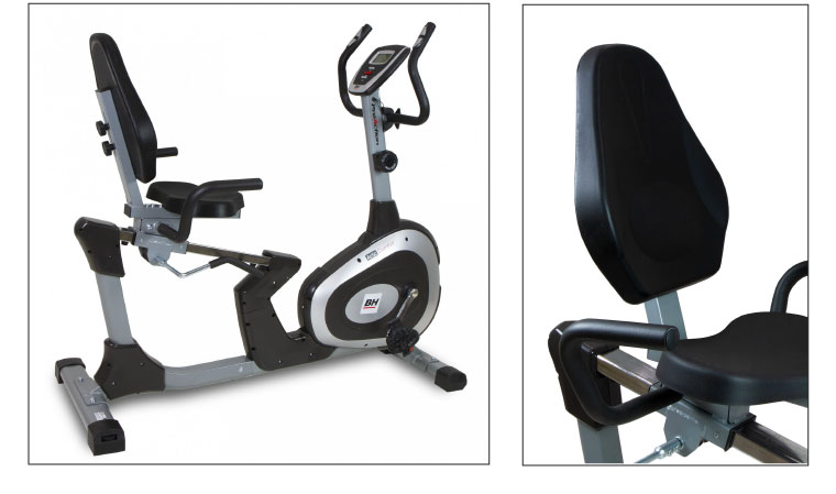 Vélo semi allongé BH Fitness Artic Comfort