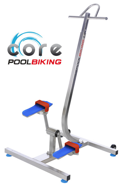 Aquabike elliptique Poolbiking Core Pro