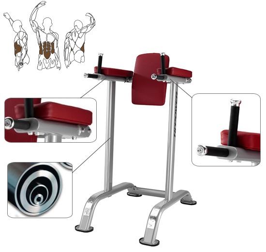 Banc abdominaux BH Hi Power TR Series Abdominal Flexor Bench