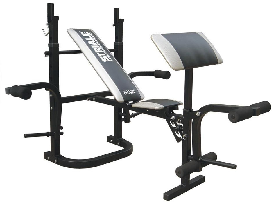 Banc de musculation striale sb 2020 multi power - Banc musculation fitness ...