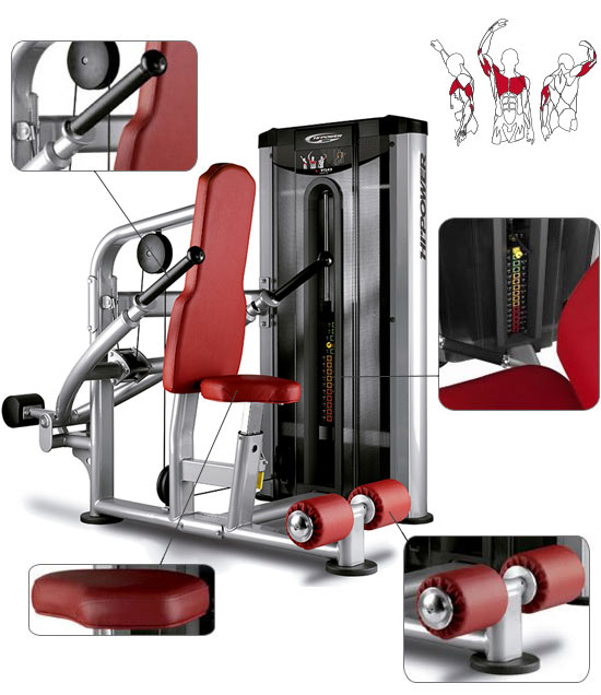 Banc de musculation BH Hipower LK Line Seated Dip