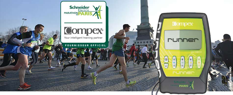Compex Runner Schneider Electric Marathon de Paris