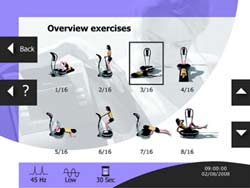 Exercice logiciel Fitvibe