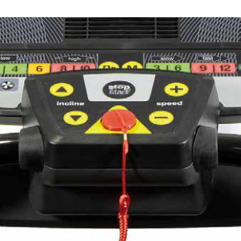 Tapis de course i.RC01 G6162L : Quick control box