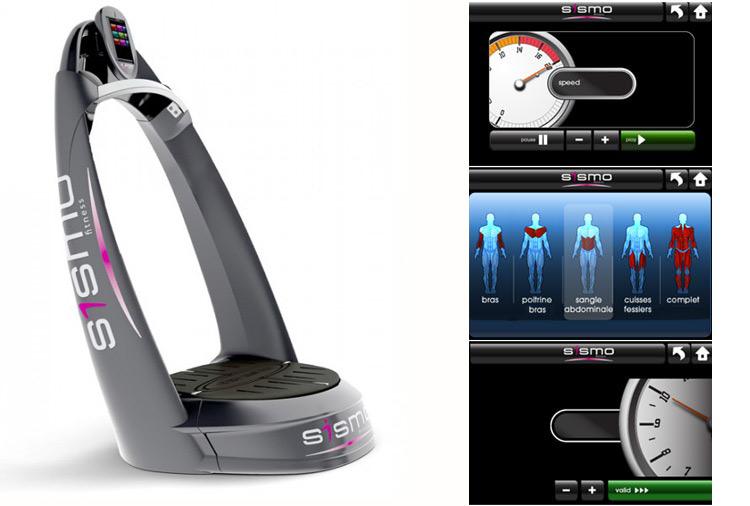 Plateforme Oscillante Sismo Fitness First Vibrotonie