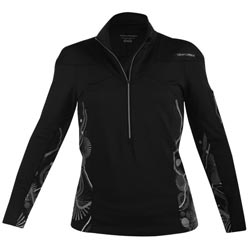 Sweat Noir zippé Performance PRO FORM