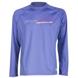 T-Shirt manches longues Bleu Performance PRO FORM