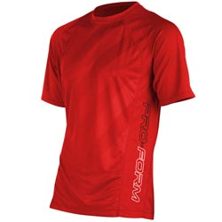 T-Shirt Rouge Performance PRO FORM