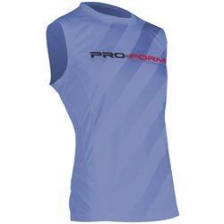 T-Shirt sans manches Bleu Performance PRO FORM