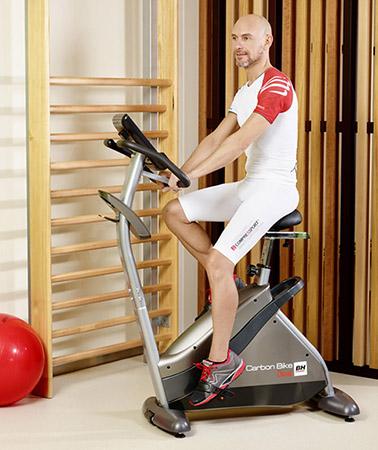 V lo d 39 appartement bh fitness i carbon bike h8705i - Bienfaits velo appartement ...