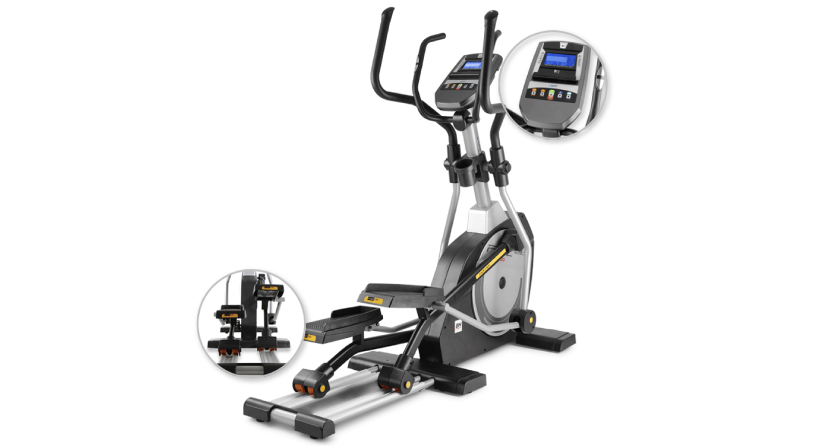 Zoom vélo elliptique BH fitness i.FDC20 dual