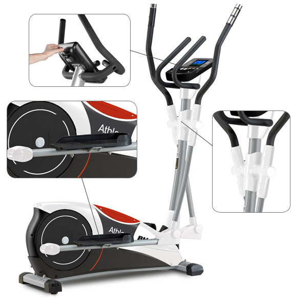 Zoom vélo elliptique bh fitness i.athlon dual