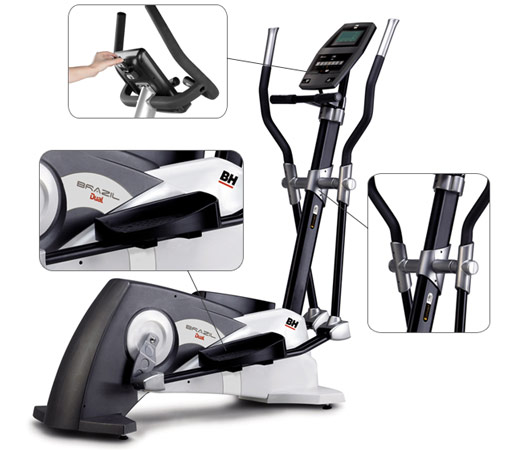 Zoom elliptique bh fitness i.Brazil dual