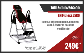 Table d'inversion BH Fitness ZERO